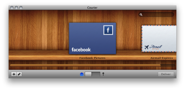 Courier 1.1.2 Facebook