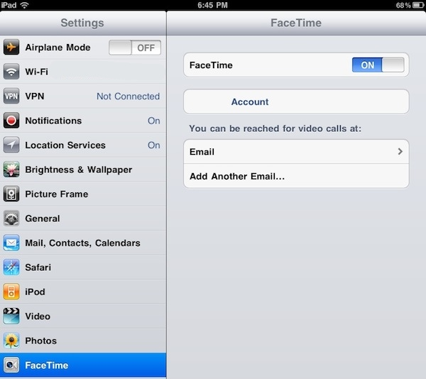how to create a second itunes account on ipad