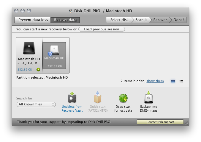 Disk drill pro