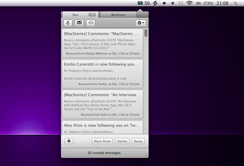 Notify 2 Mac
