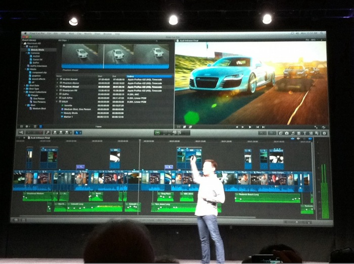 FCPX unveiled at video editing conference