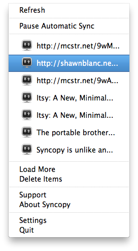 Syncopy Mac