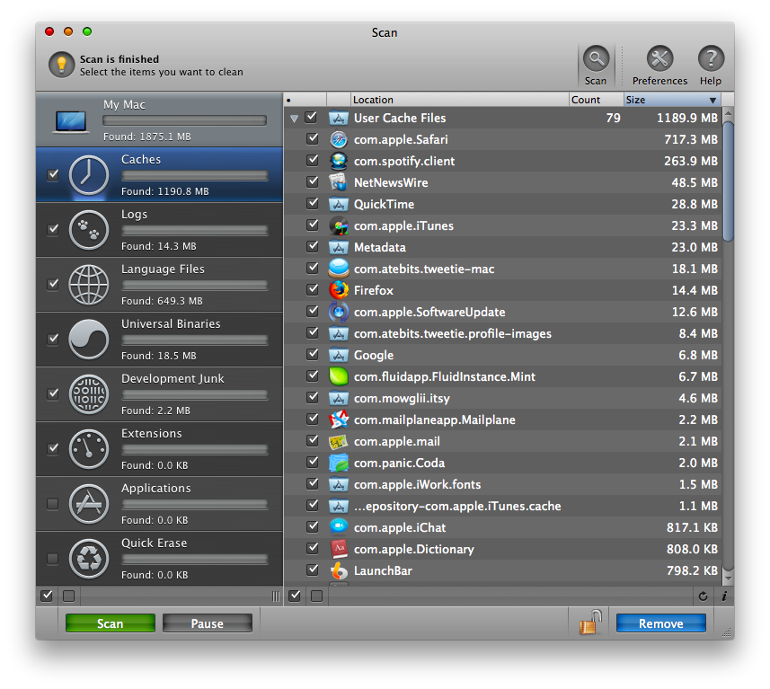 CleanMyMac App