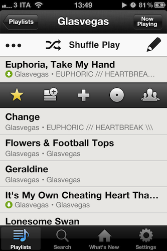 Spotify Adds Play Queue to iPhone App – MacStories