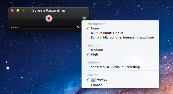 Quicktime For Windows Screen Recording