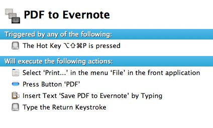Automatically Saving PDFs (And Clipboard) to Evernote ...