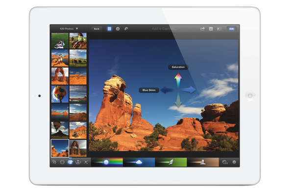 iPhoto for iOS on the 3rd gen iPad