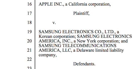 Apple V Samsung The Story So Far Macstories