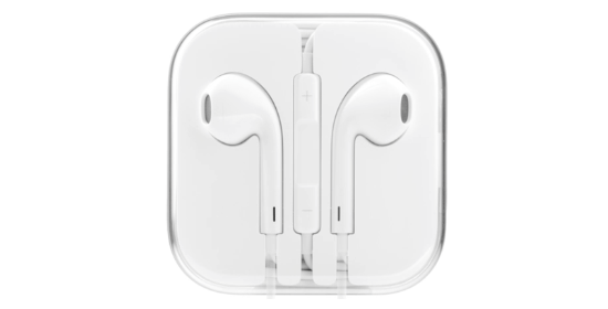 Apple's EarPods in their packaging