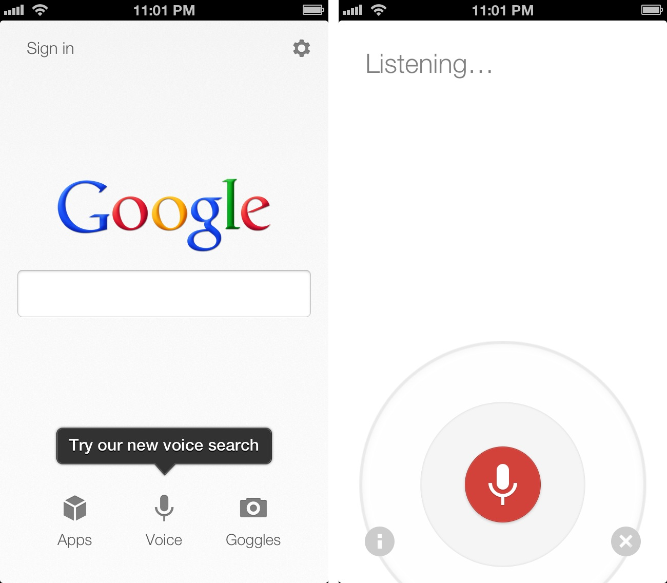 Google Voice Search for iOS: Not A Siri Competitor, Still ...